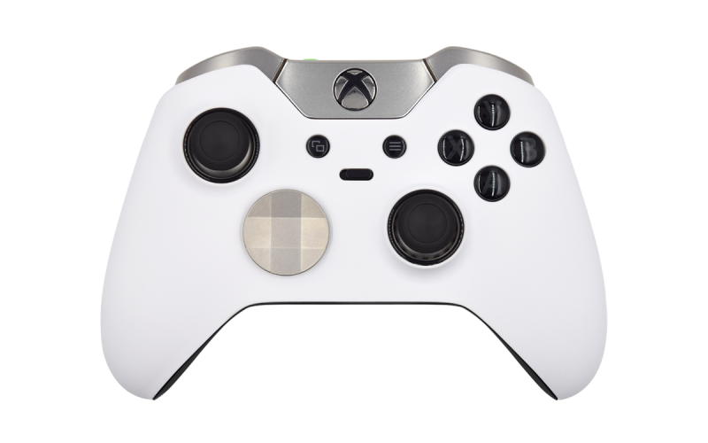 Custom White Xbox Elite Wireless Controller