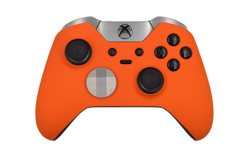 Custom Orange Xbox Elite Wireless Controller