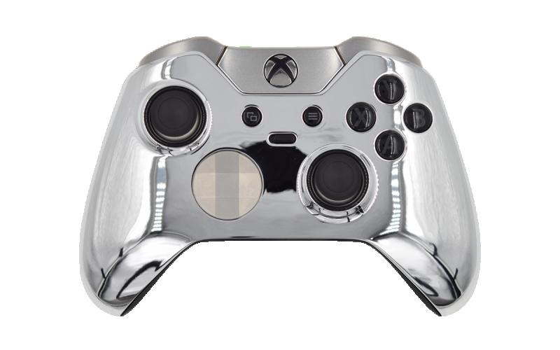 Custom Chrome Silver Xbox Elite Wireless Controller
