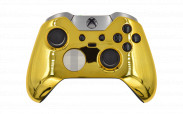 Custom Chrome Gold Xbox Elite Wireless Controller
