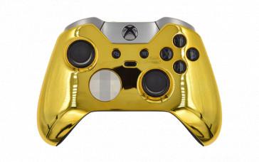Custom Chrome Gold Xbox Elite Wireless Controller