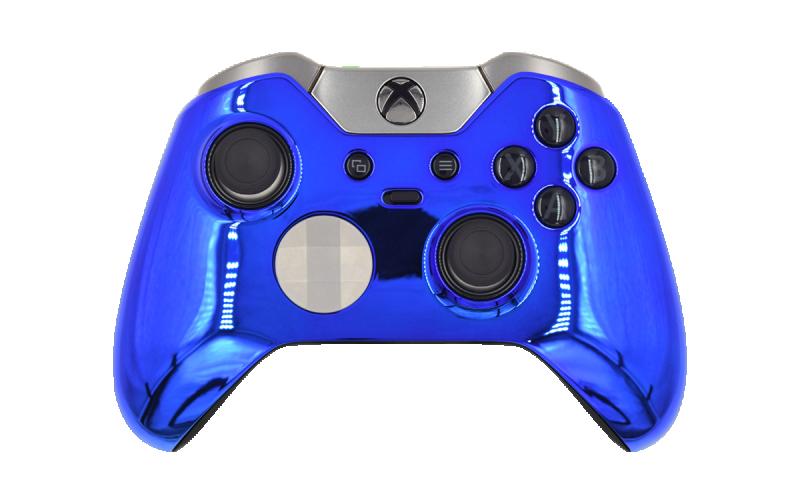Custom Chrome Blue Xbox Elite Wireless Controller