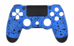 Custom - Rubberized Blue - Controller For PS4
