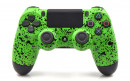 PS4 Rubberized Lime Green Custom Modded Controller Small