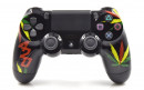 PS4 Pro Cannabis Leaves Custom Modded Controller Small