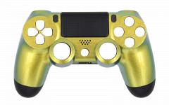 Custom Colors - Gold Chameleon - Controller For PS4