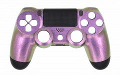 Custom Colors - Pink Chameleon - Controller For PS4