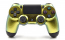 PS4 Gold Chameleon Custom Modded Controller Small