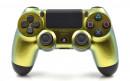 PS4 Pro Gold Chameleon Custom Modded Controller Small