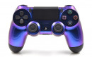 PS4 Pro Purple Chameleon Custom Modded Controller Small