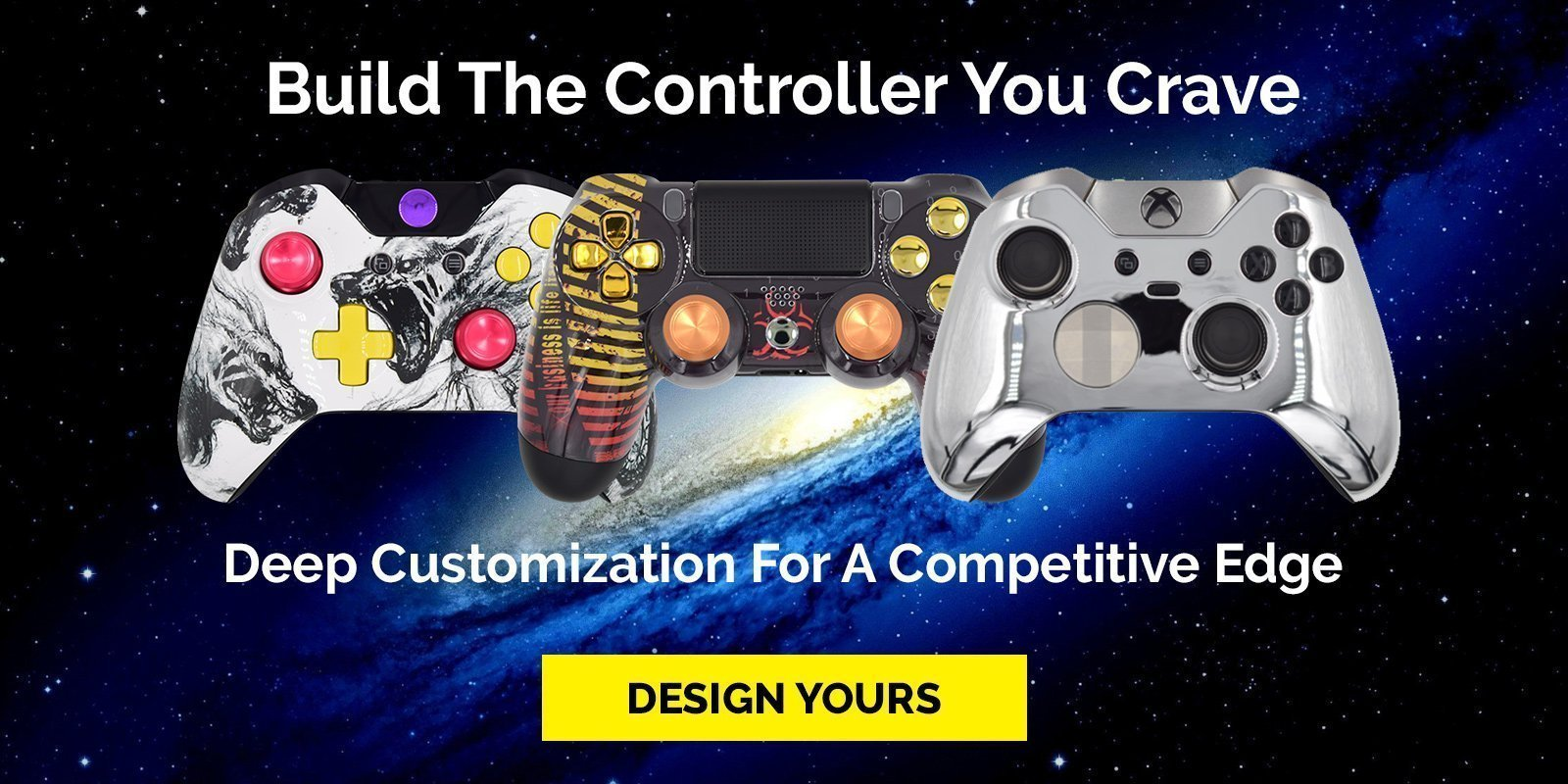 Custom Controllers Or How To Explore Your Taste Limits