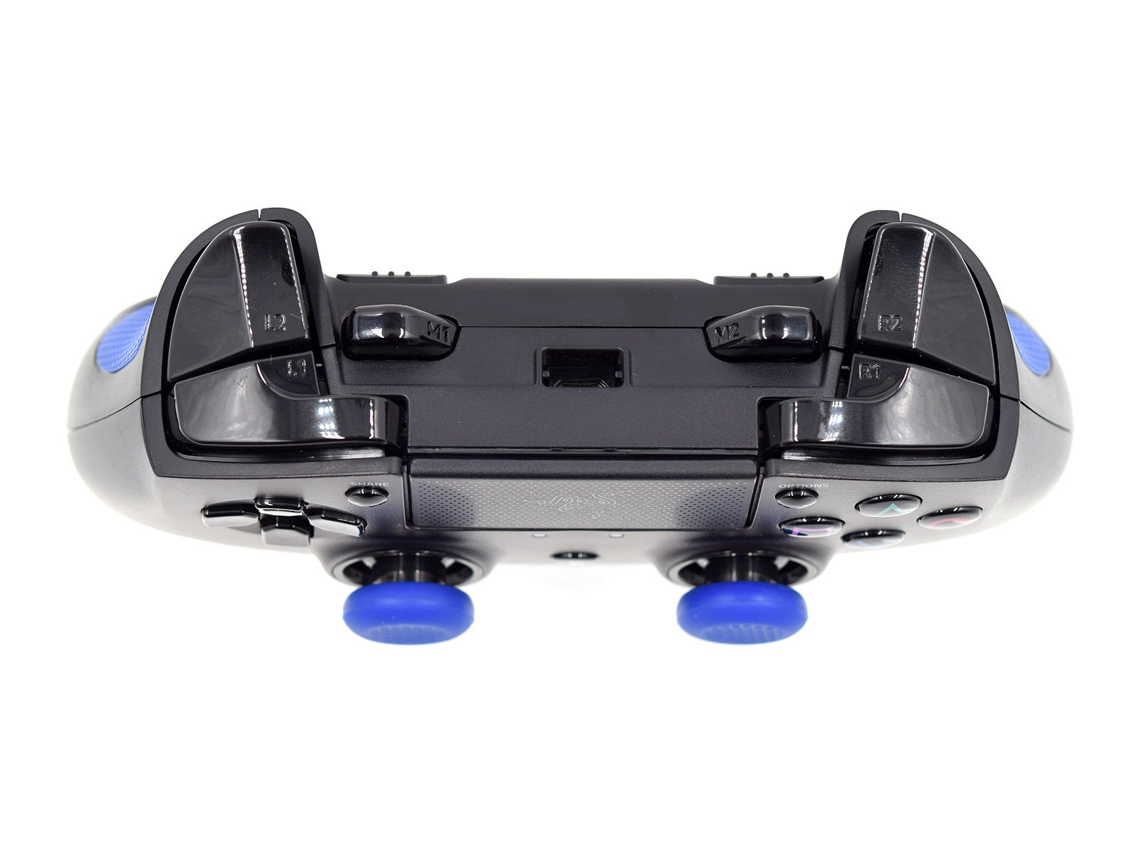 Razer Raiju PS4 Pro Controller - Triggers and Bumpers View Front Side Down