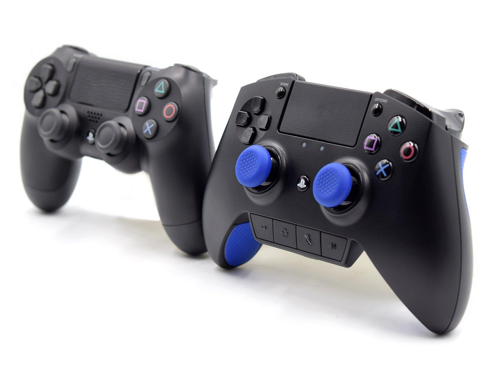 Razer Raiju and Standard PS4 Controller Comparison