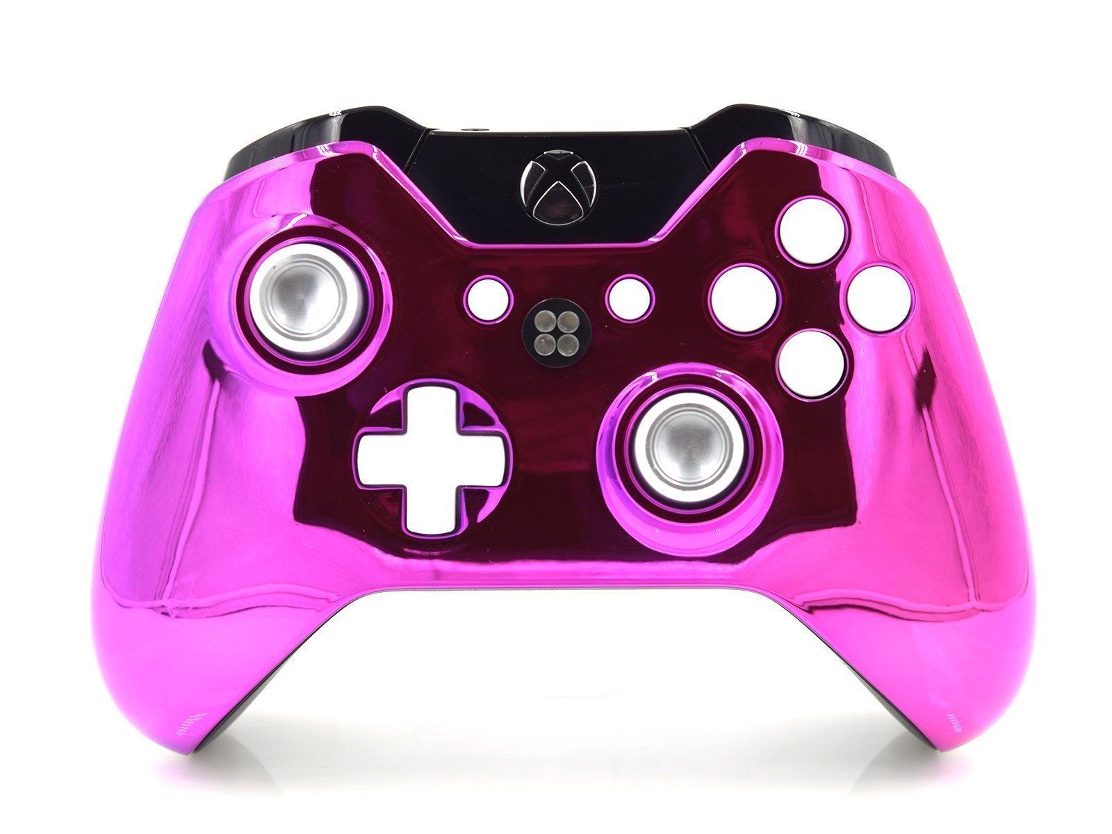 Chrome Pink Xbox One Custom Controller