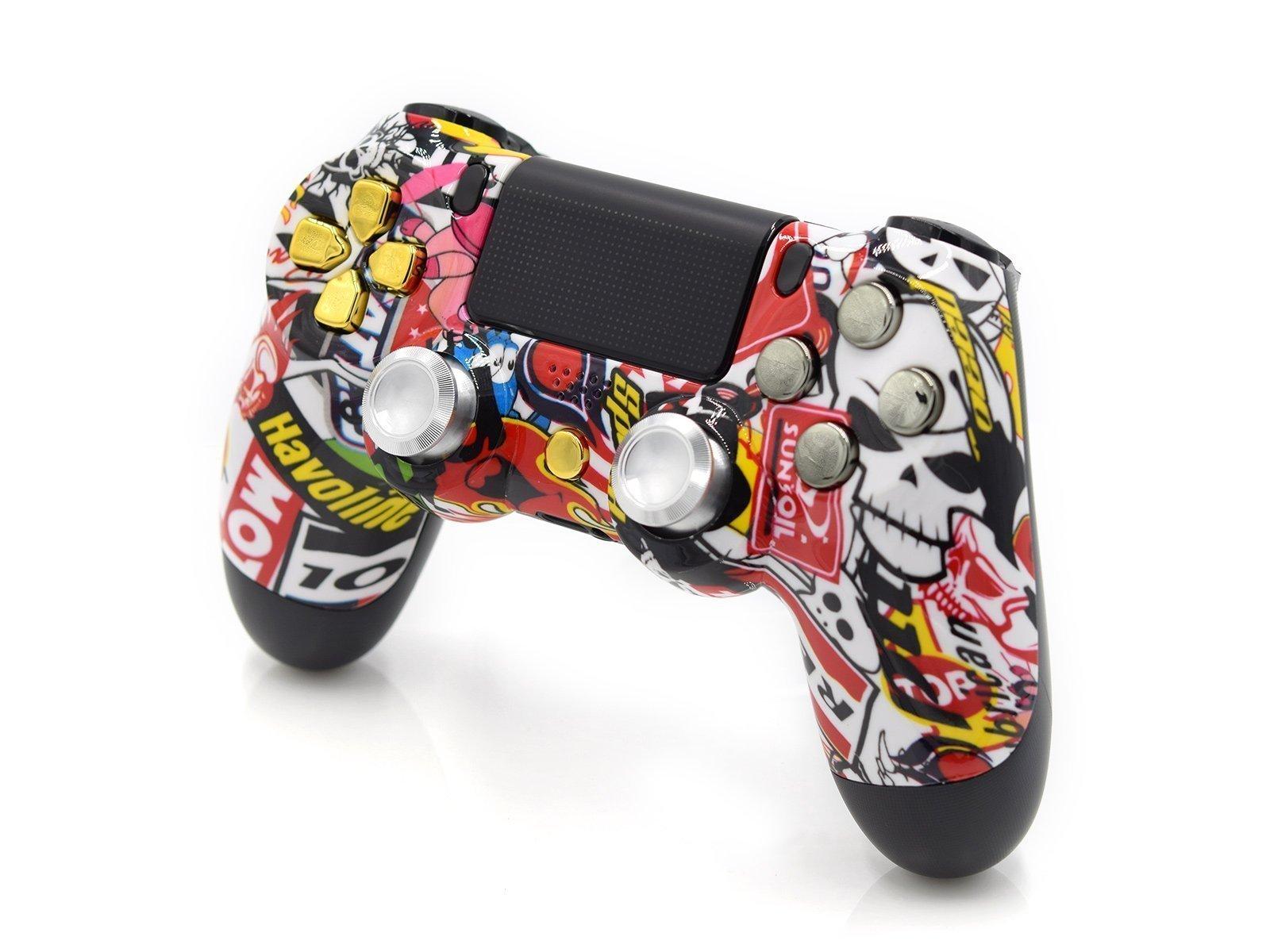 Sticker Bomb PlayStation 4 Custom Controller