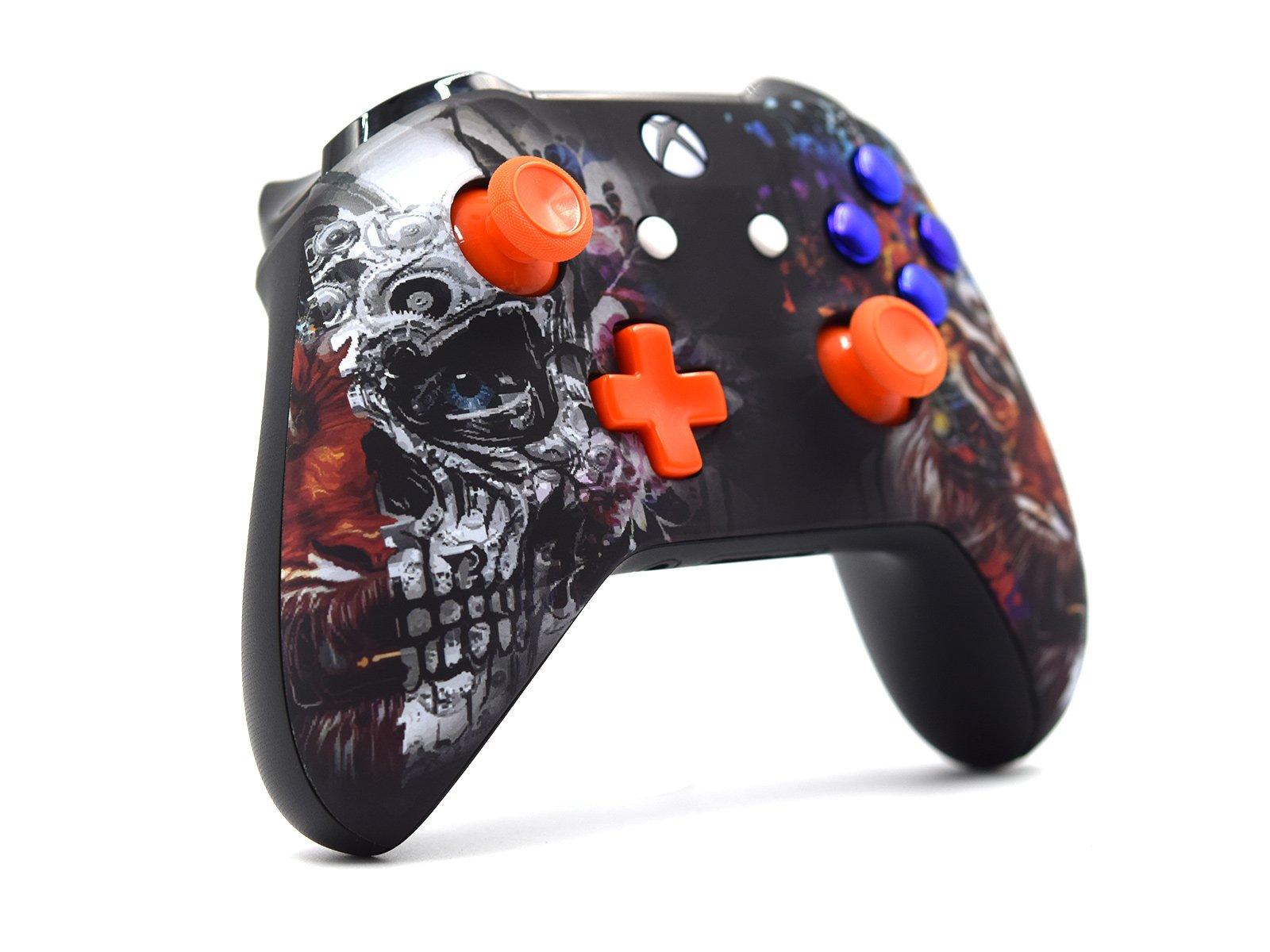 Custom Xbox One S Controller - Tiger Skull