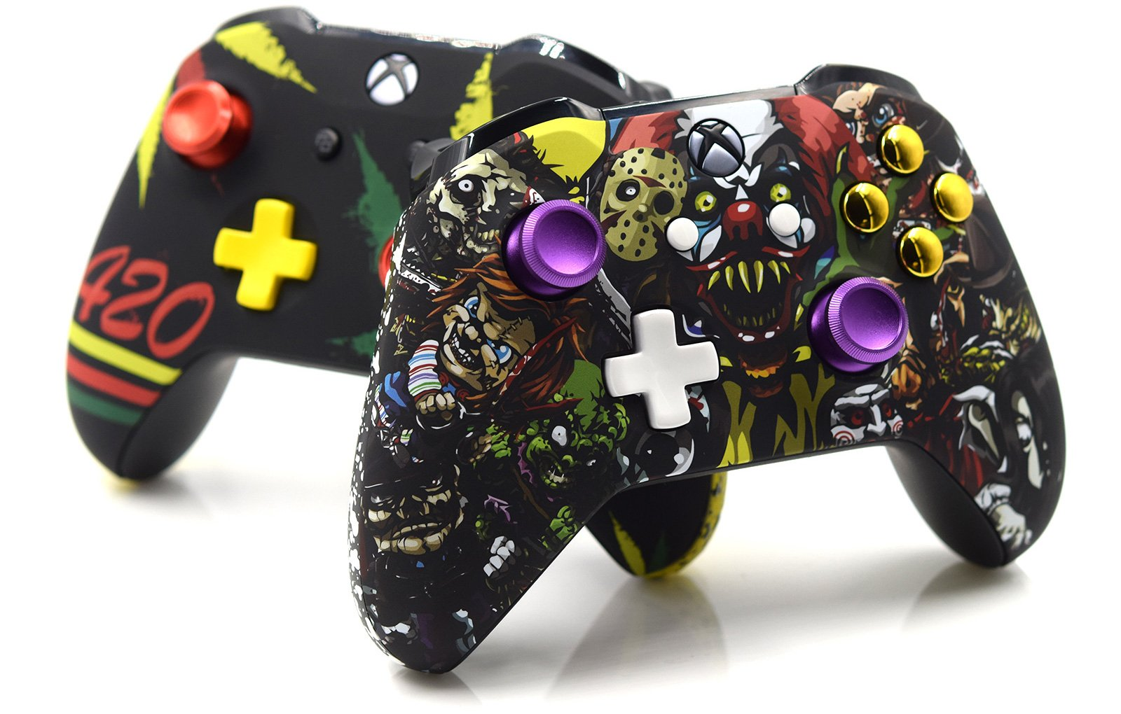 Halloween Party Custom Controller For Xbox One S