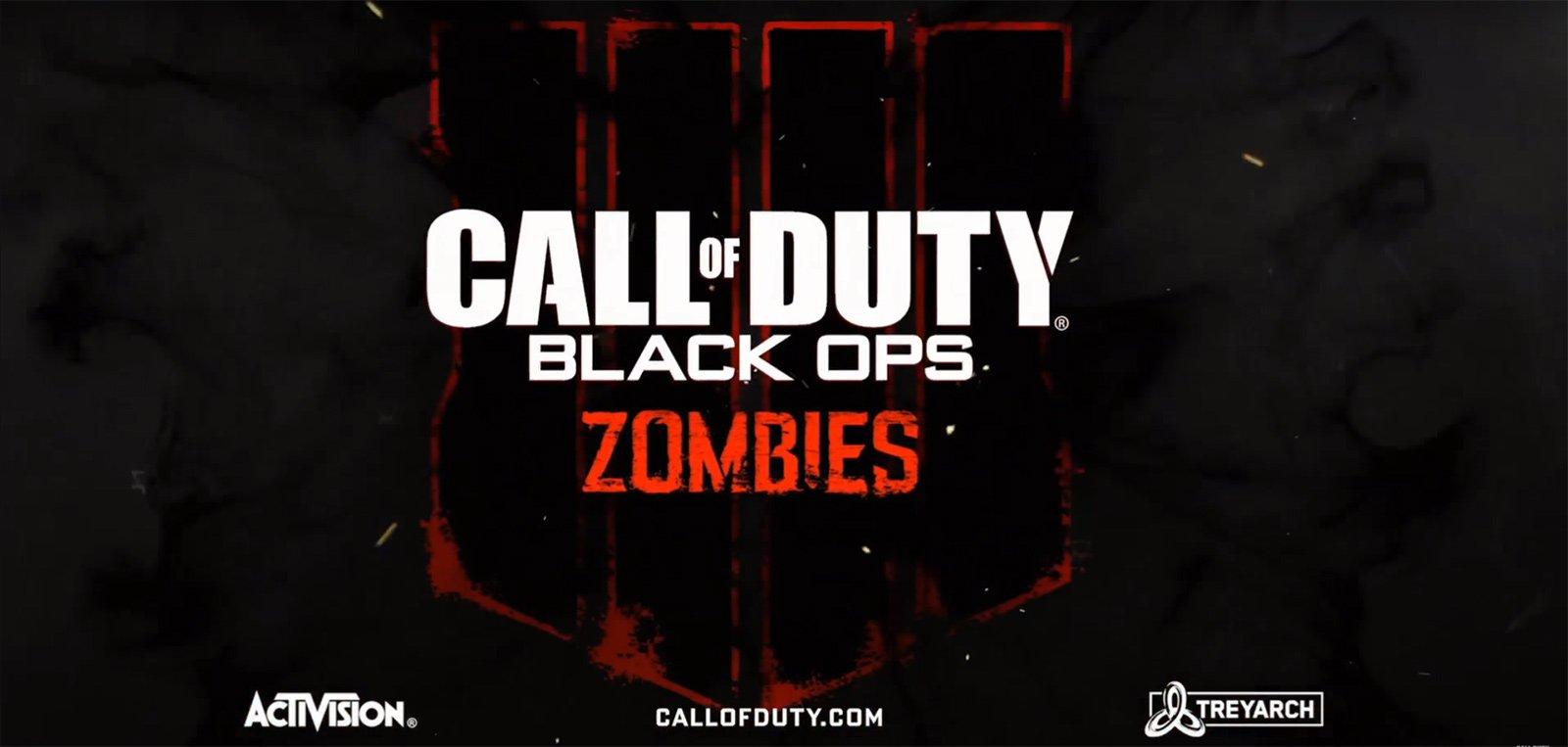 Black Ops 4 Zombie Logo
