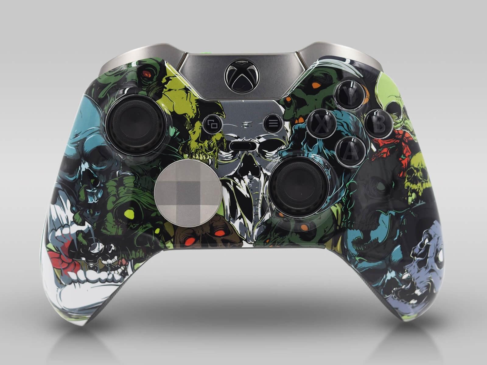 Xbox Elite Modded ControllerSkull Heads
