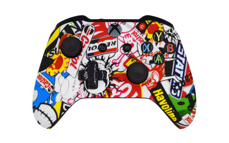 Xbox One S Sticker Bomb Custom Modded Controller
