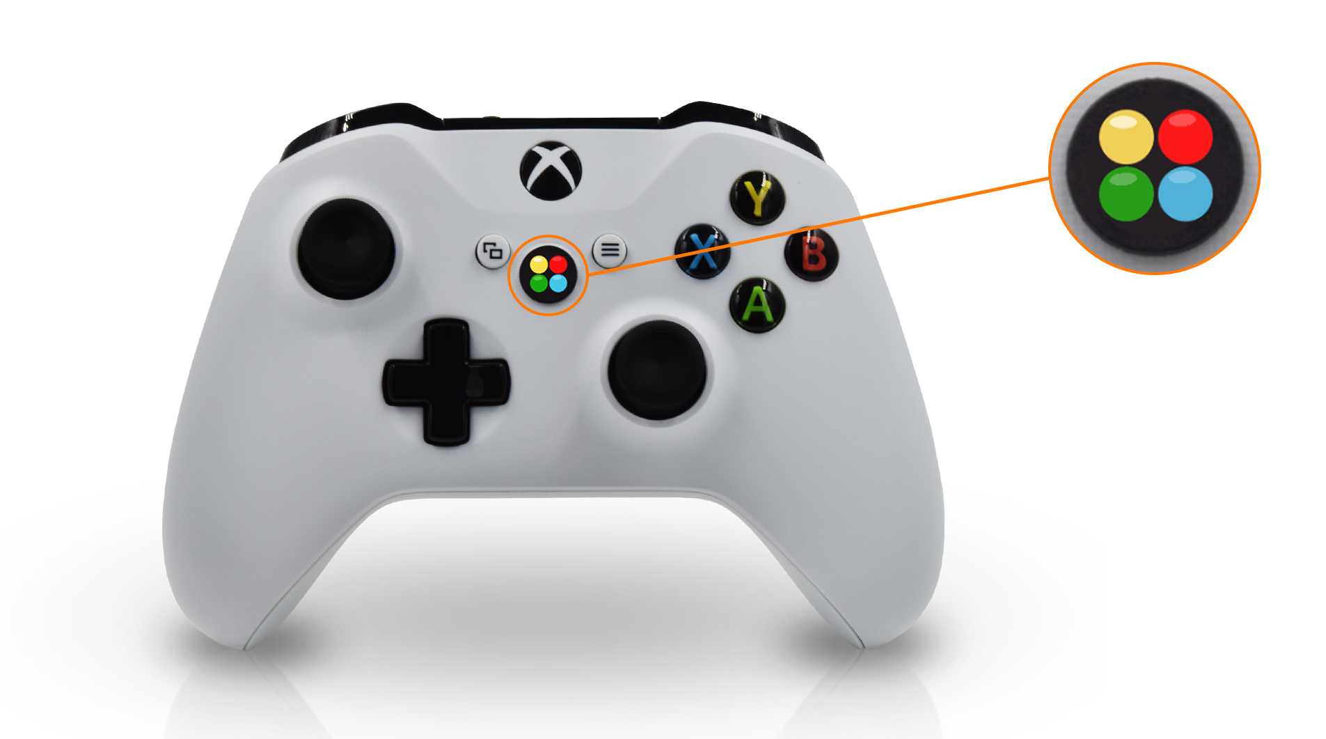 LED Indicator on Xbox One S Modded Controller