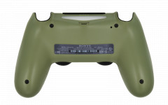 PS4 Controller Green Camo Back shell