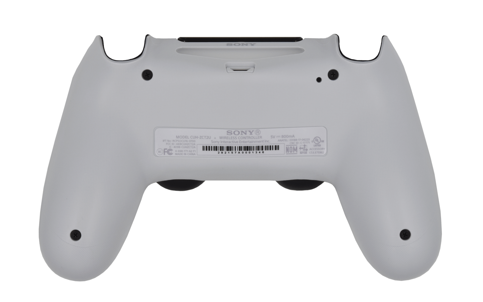 PS4 Controller White Back shell