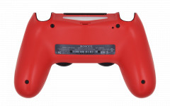 PS4 Controller Magma Red Back shell