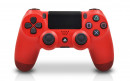 Modded PS4 Controller Magma Red Front Profile