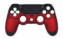 Custom Colors - Volcano Red - Controller For PS4