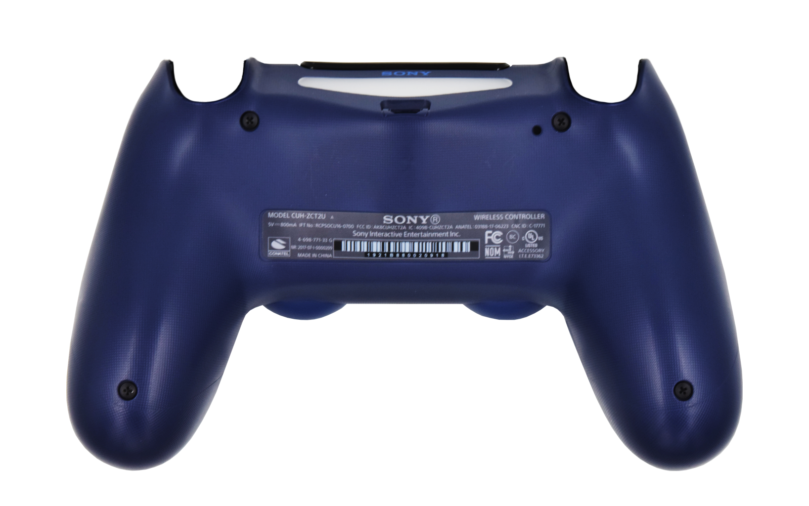 PS4 Controller Midnight Blue Back shell