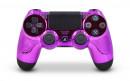 PS4 Pro Chrome Purple Custom Modded Controller Small