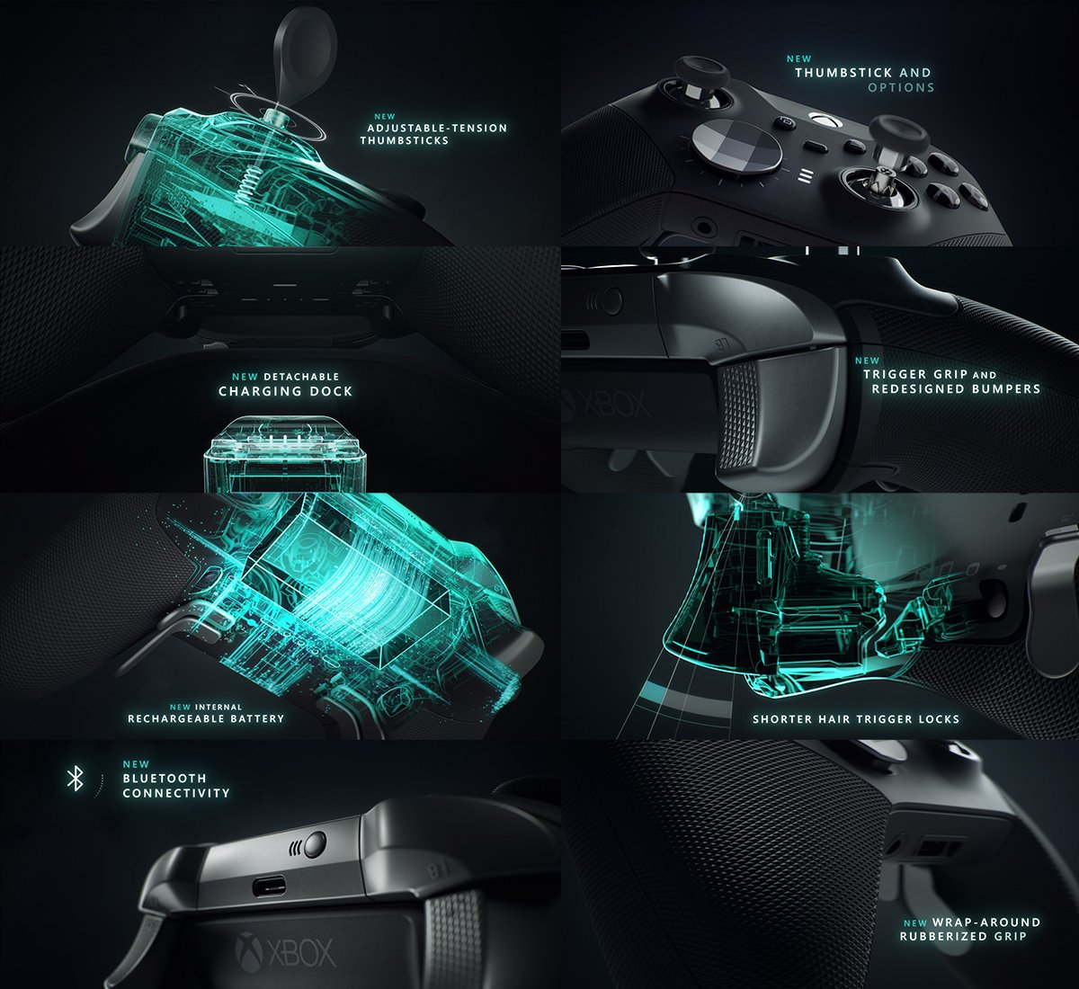Xbox One Elite 2 Controller Features